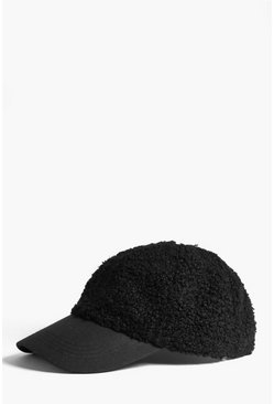 Mens Black Borg Cap
