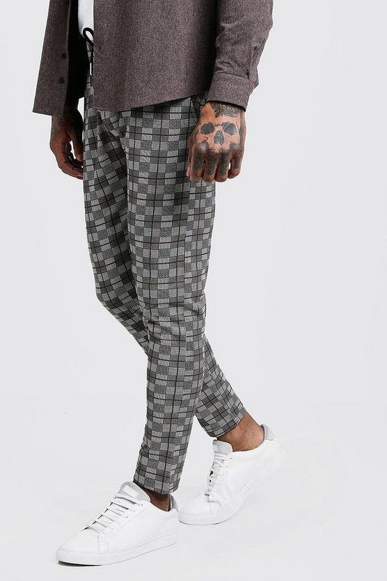 Heritage Check Smart Jogger