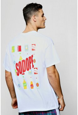 Mens Oversized So Dope Back Print T-Shirt
