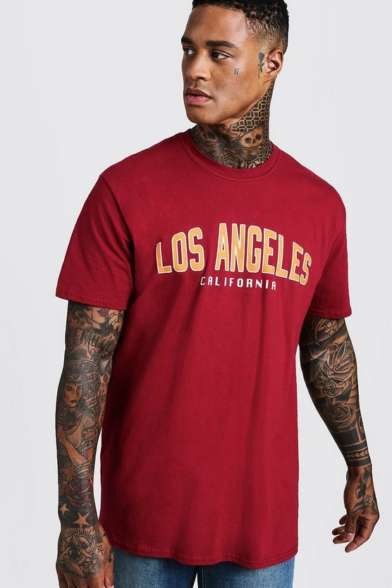 Loose Fit Varsity Los Angeles T-Shirt
