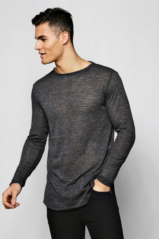 Lightweight Drop Shoulder Jumper