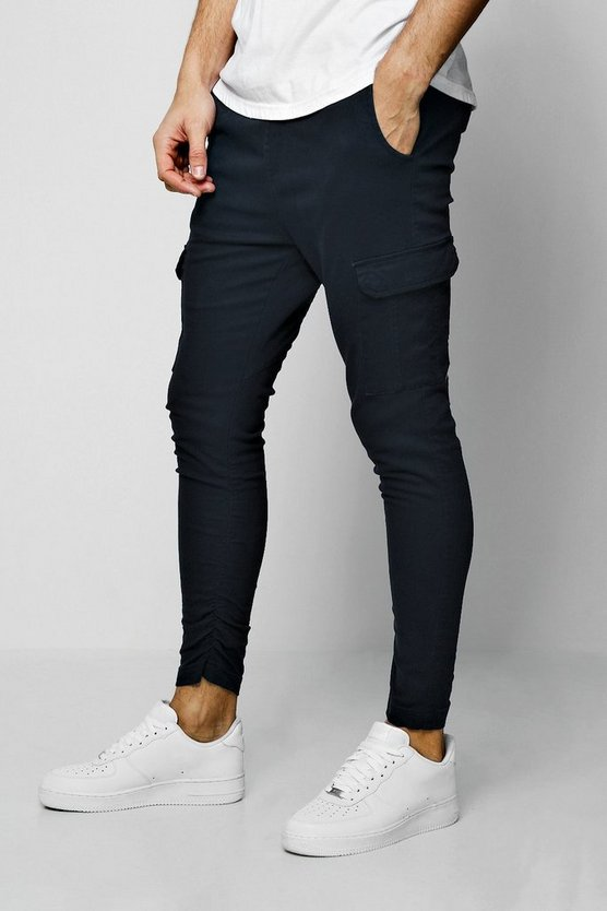 Skinny Fit Cargo Trouser
