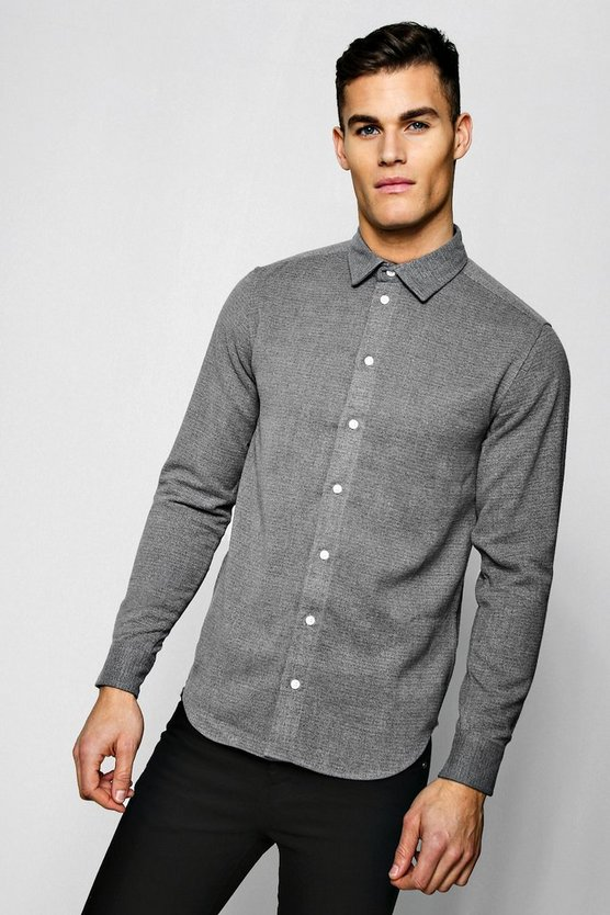 Heavyweight Flannel Long Sleeve Shirt