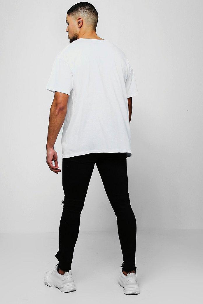 Loose Fit 34 Sleeve T Shirt | boohoo Australia | Sleeves