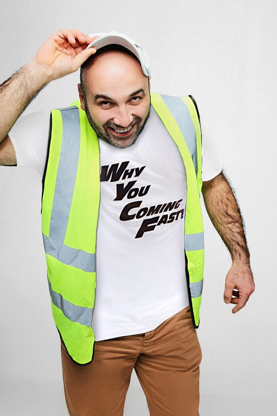 T-shirt « WHY YOU COMING FAST? » Ferdi