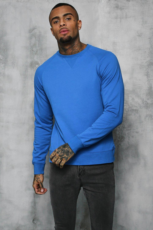 Basic Lightweight Crew Neck Sweater