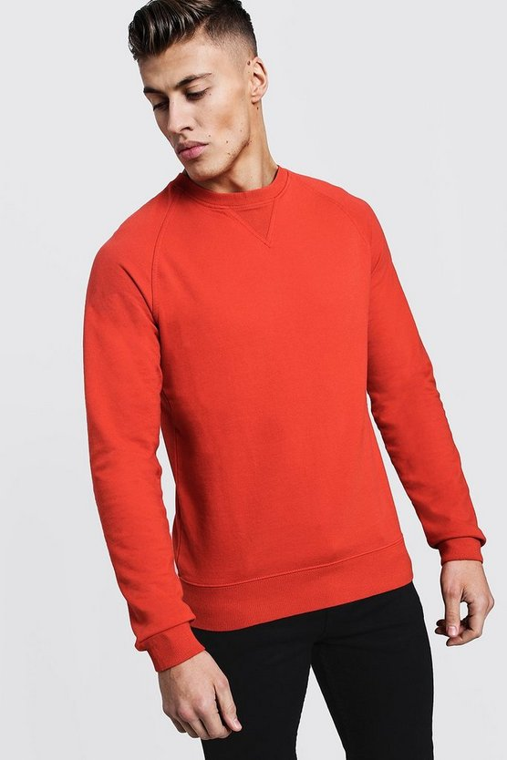 Basic Lightweight Crew Neck Sweater