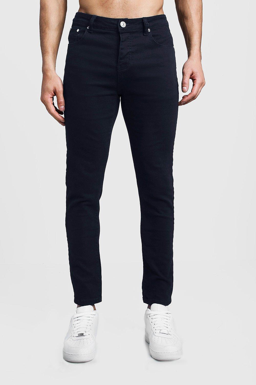 Skinny Fit Navy Denim Jeans