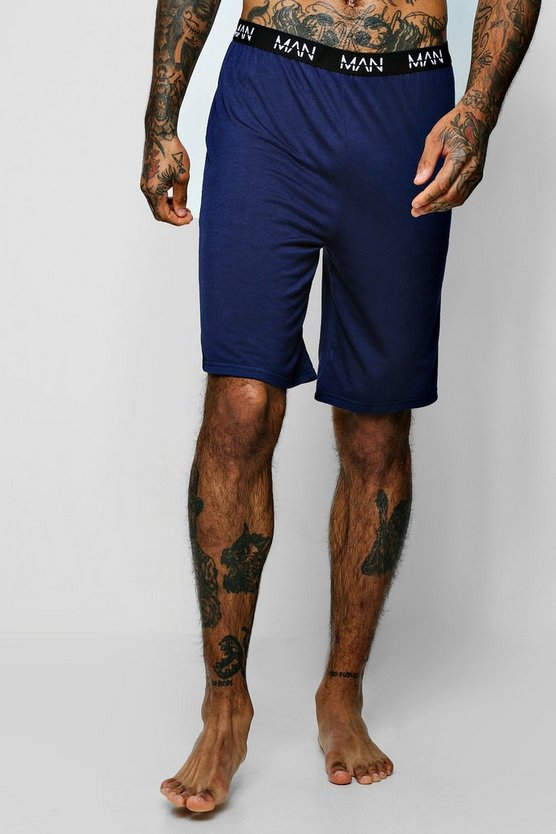 MAN Dash Waistband Jersey Lounge Short