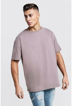 Mens Bark Oversized Crew Neck T-Shirt