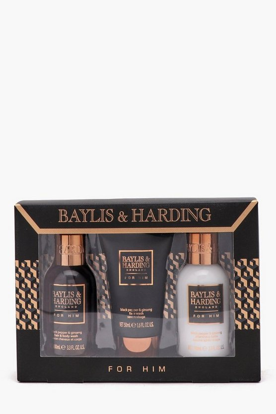 Baylis & Harding Mens Black Pepper Gift Set