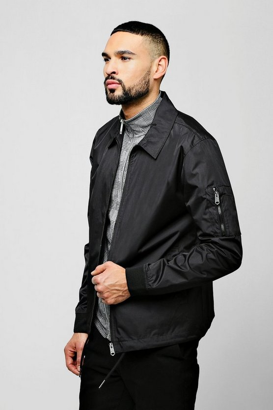 Zip Through Coach Jacket