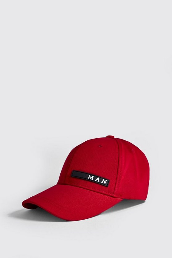 MAN Sport Rubberised Patch Cap