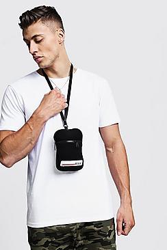 Neoprene MAN Tab Mini Cross Body Bag