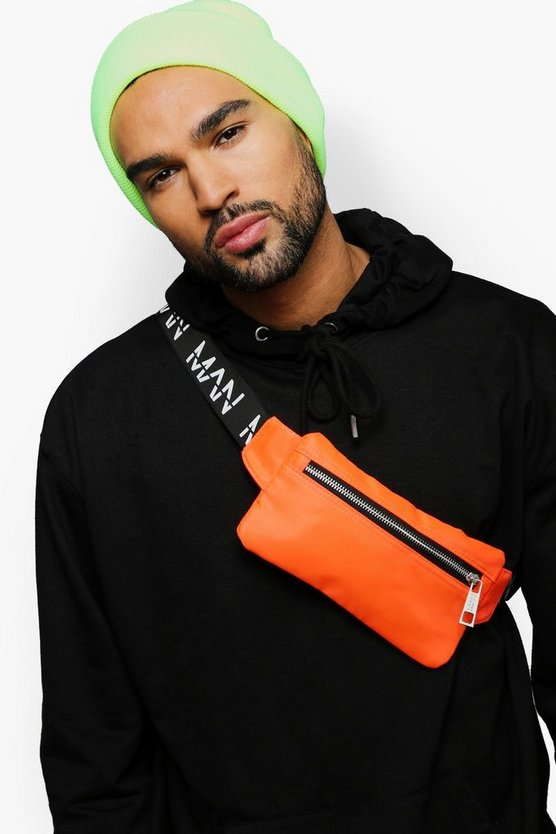 Mini MAN Branded Cross Body Bag
