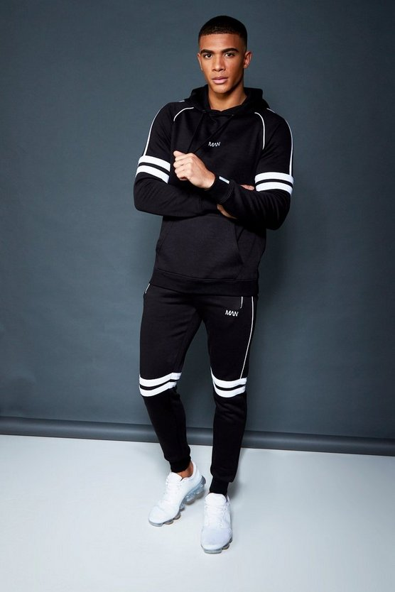 Skinny Fit OTH Hooded Fleece Tracksuit
