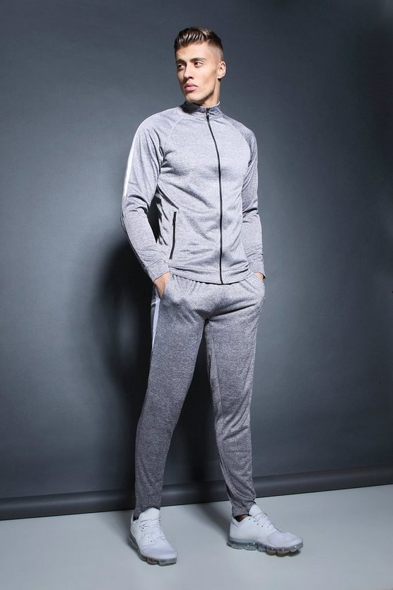 Active Track Top Skinny Fit Tracksuit