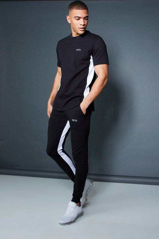 Active T-Shirt Skinny Fit Tracksuit