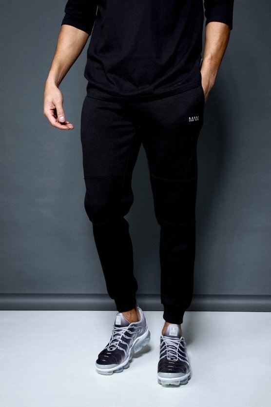 Active Panelled Skinny Fleece Jogger