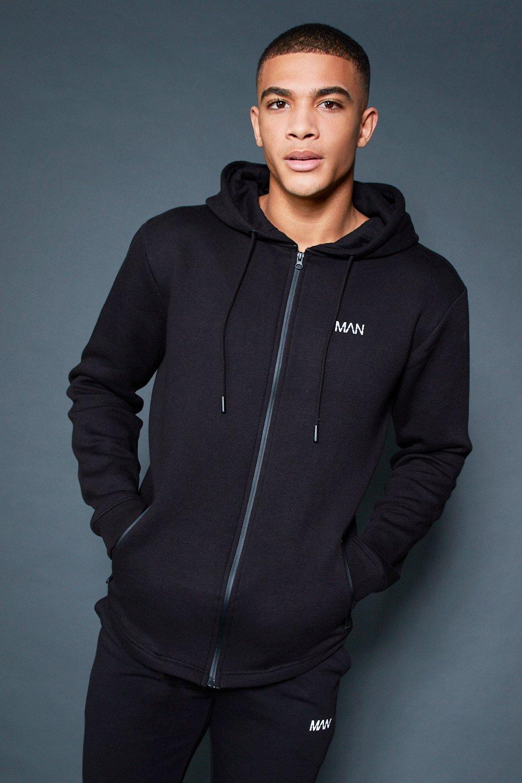 Active Zip Through Fleece Hoodie