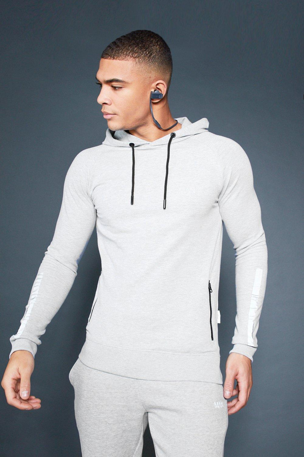Active Over The Head Raglan Hoodie