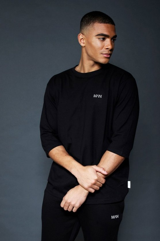Active Loose Fit 3/4 Sleeve T-Shirt