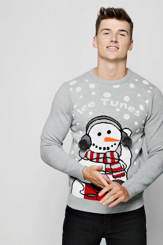 Ice Tunes Christmas Sweater