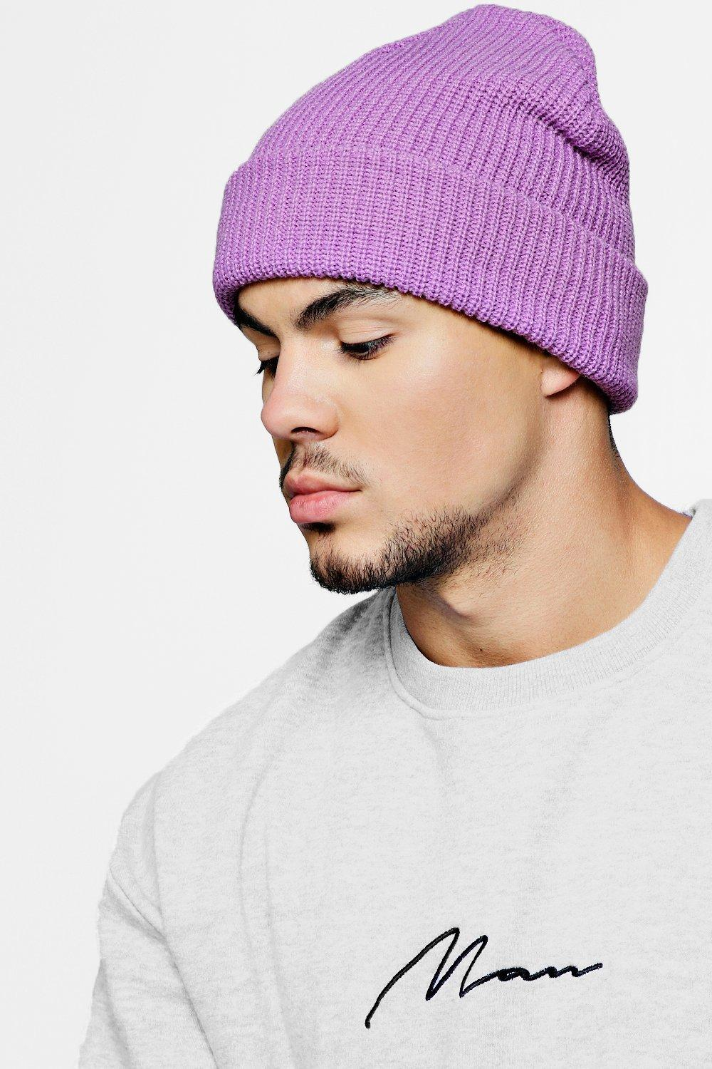 Rib Knit Beanie Hat. Hover to zoom 8553a40be84