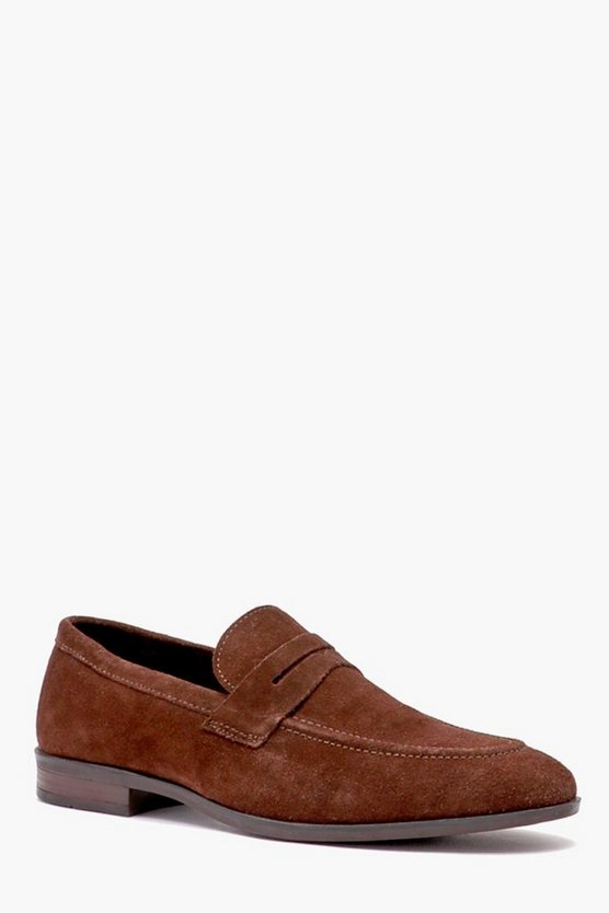 Real Suede Smart Loafer
