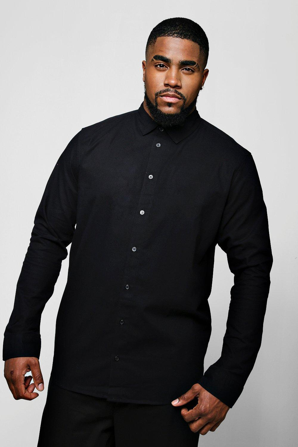 Big And Tall Long Sleeve Oxford Shirt