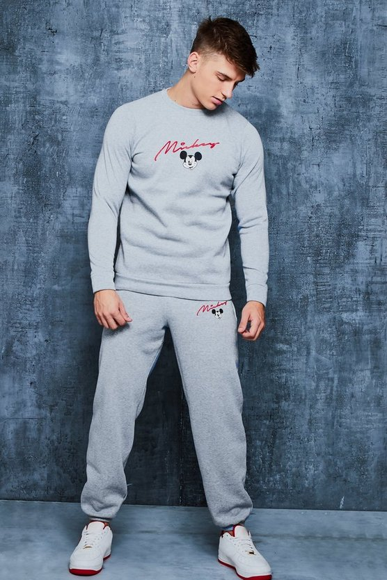 Disney Mickey Signature Sweater Tracksuit