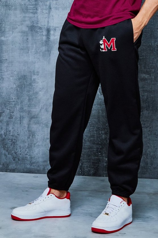 Disney Varsity 'M' Loose Fit Joggers