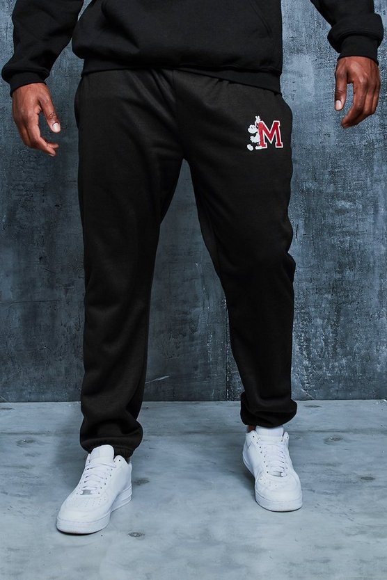Big And Tall Disney Varsity Loose Fit Joggers