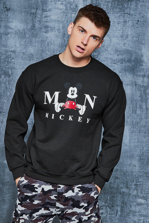 Disney Mickeys The Man Sweater