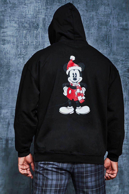 Big And Tall Disney Christmas Print Hoodie