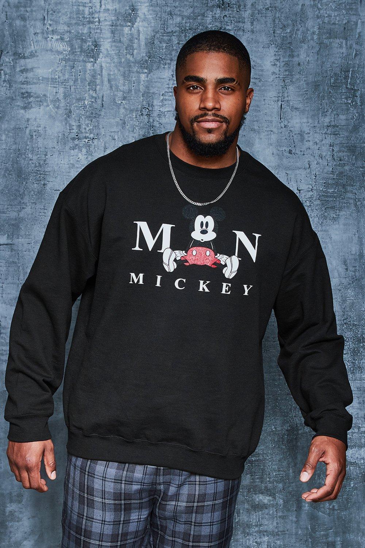 Big And Tall Disney Mickeys The Man Sweater