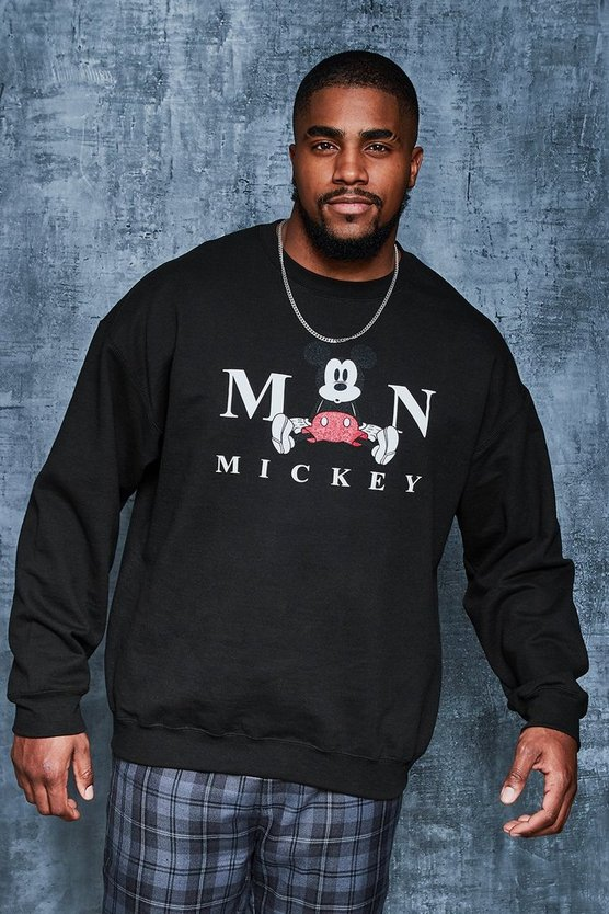 Big And Tall Disney Mickeys The Man Sweater