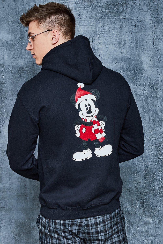 Disney Christmas Front & Back Print Hoodie