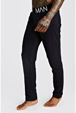 Herr Black MAN French Terry Lounge Pants
