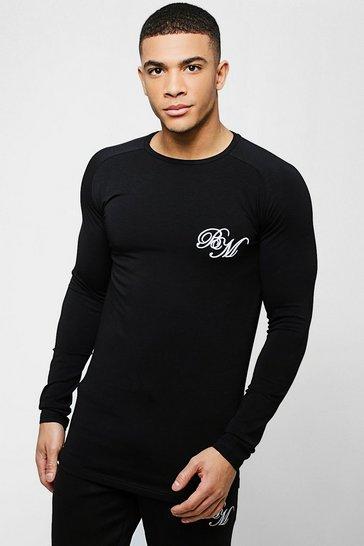 77df7a9c Mens Longline Clothing | Shop Longline Tshirts & Vests | boohoo