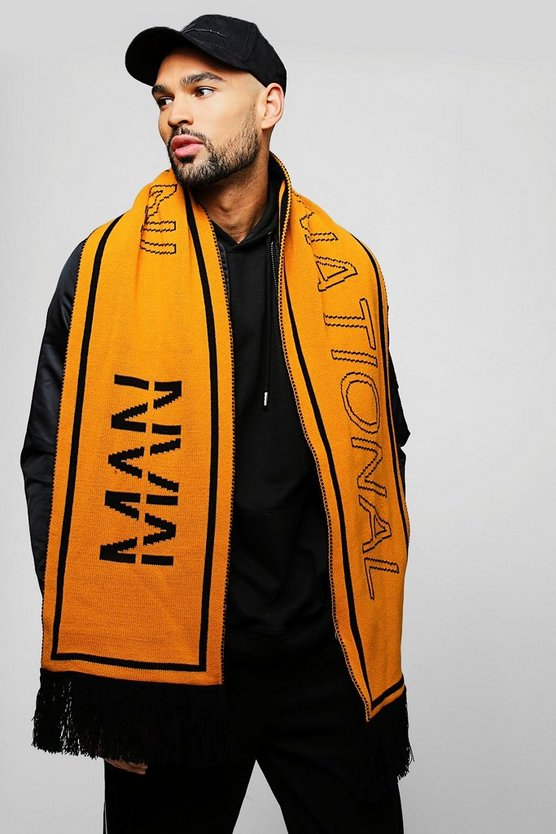 MAN International Knit Scarf