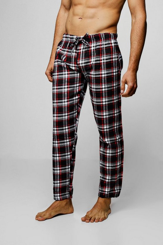 Polar Fleece Check Lounge Pants