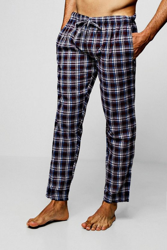 Flannel Check Lounge Pants