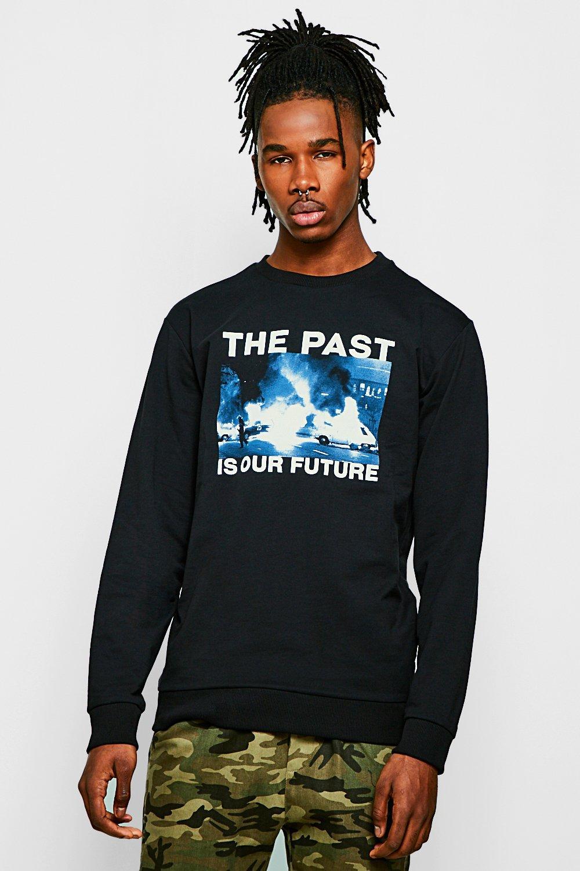"""""The Past"""" Crew Neck Sweatshirt"