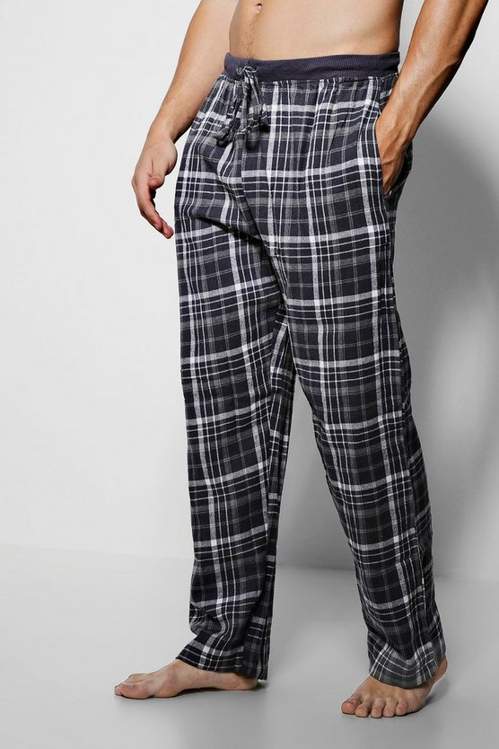 Yarn Dye Check Lounge Pants