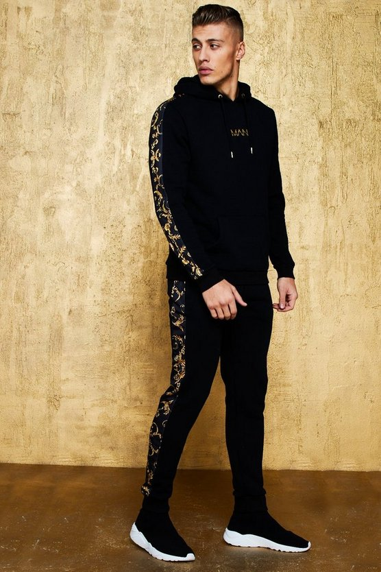Original MAN Tracksuit With Baroque Panel