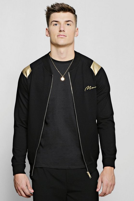 MAN Gold Jersey Bomber