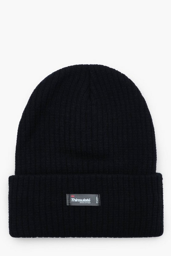 Thinsulate Rib Knit Beanie
