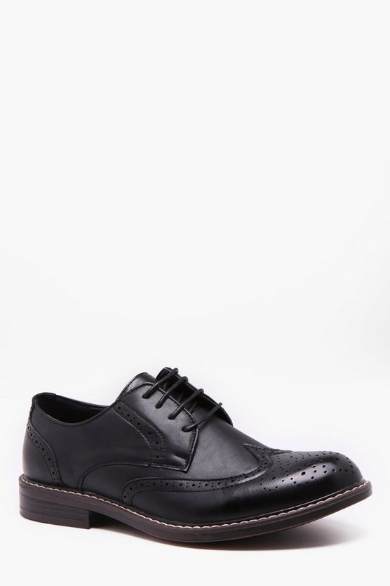 Cleated Gibson Brogues