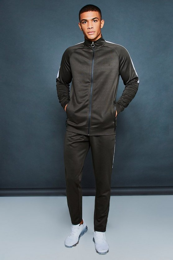 Active Skinny Funnel Neck Tracksuit